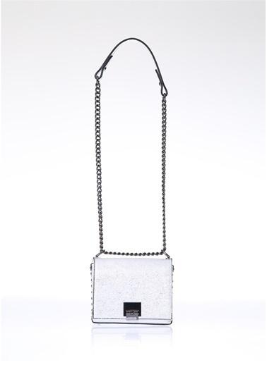 Exclusive Messenger / Askılı Çanta Gümüş